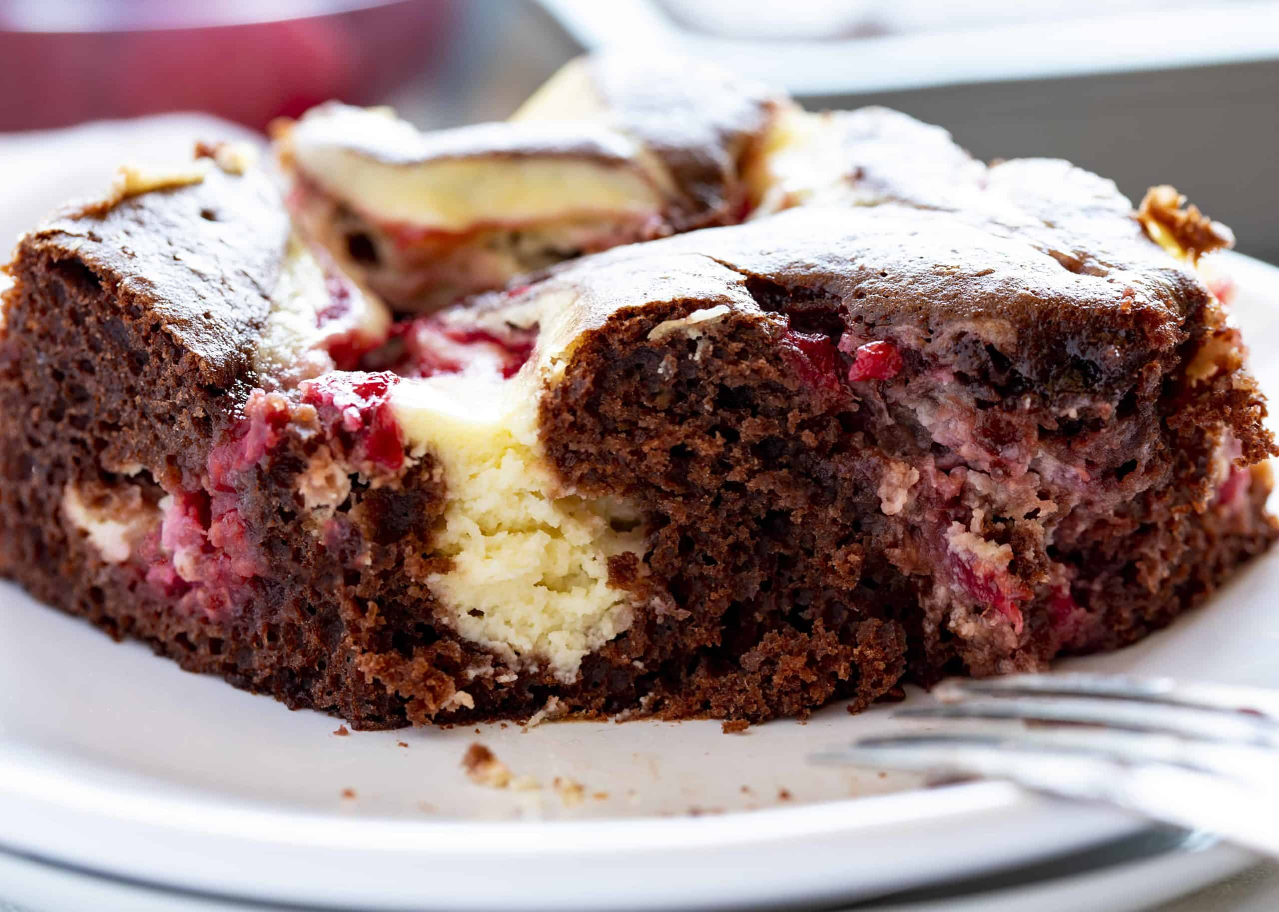 Cheesecake Chocolate Sheetcake