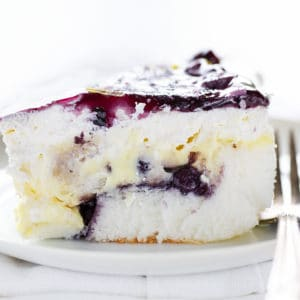 Blueberry Lemon Heaven Cake
