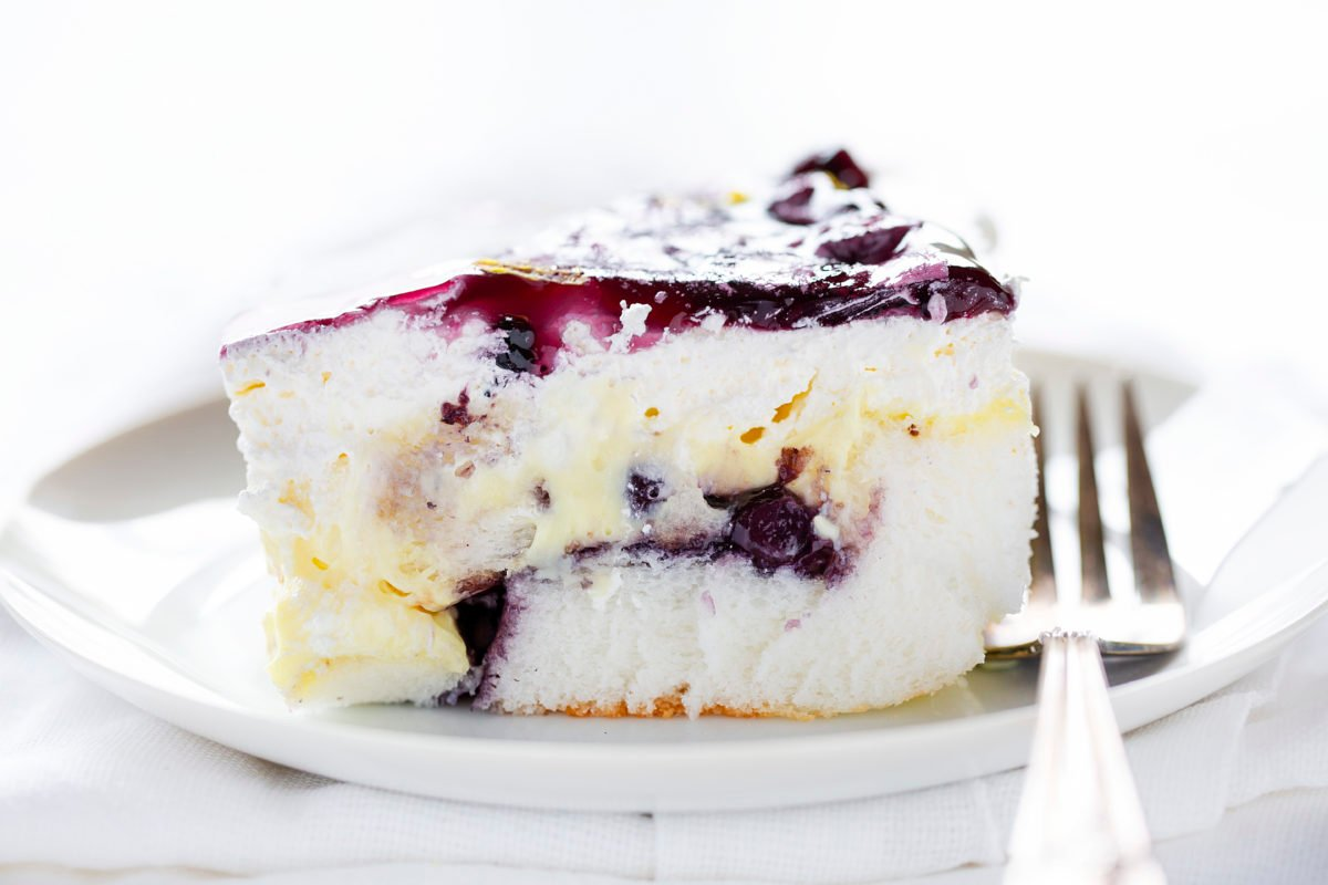 Blueberry Lemon Heaven Dessert