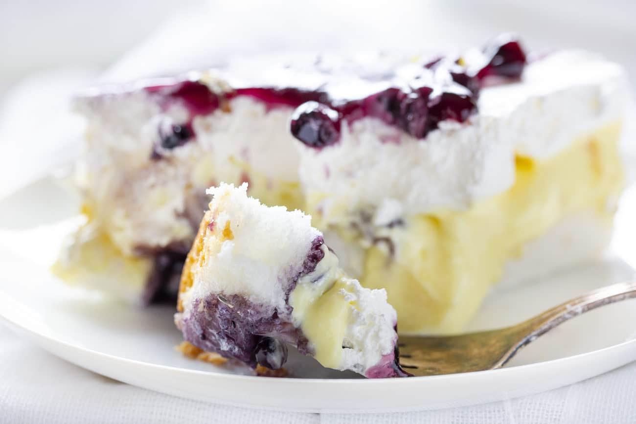 Blueberry Lemon Heaven Dessert