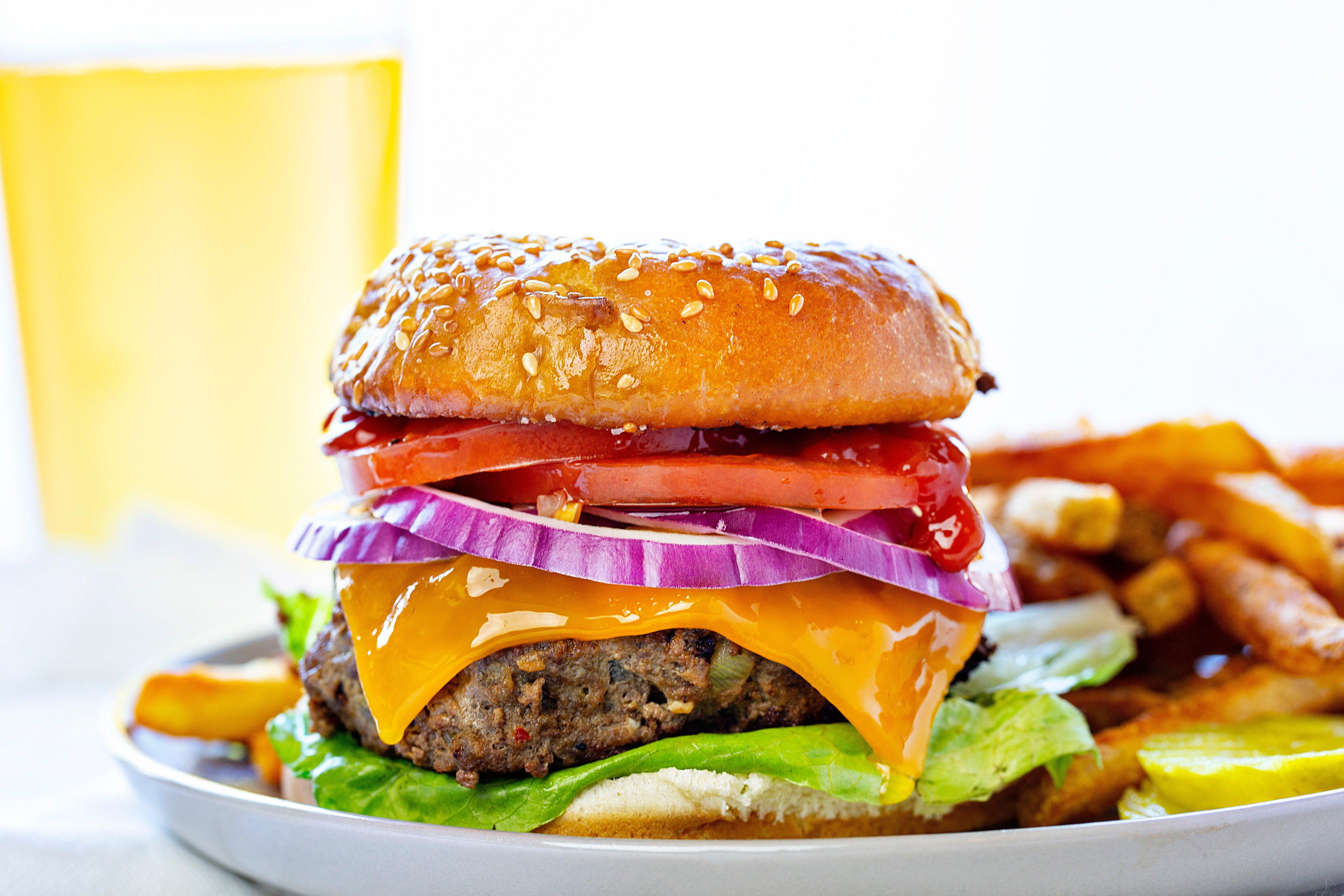 The Best Cheeseburger