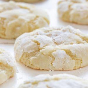 Ooey Gooey Lemon Cookies