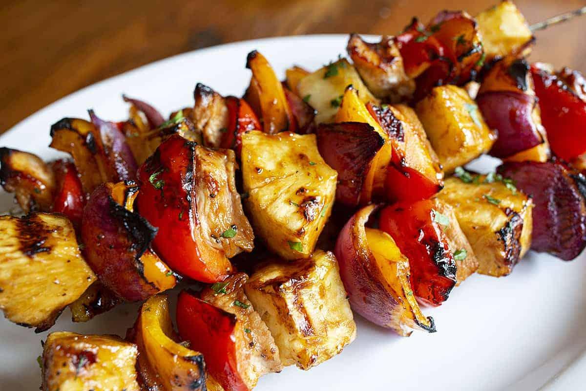 Hawaiian Kebabs Recipe