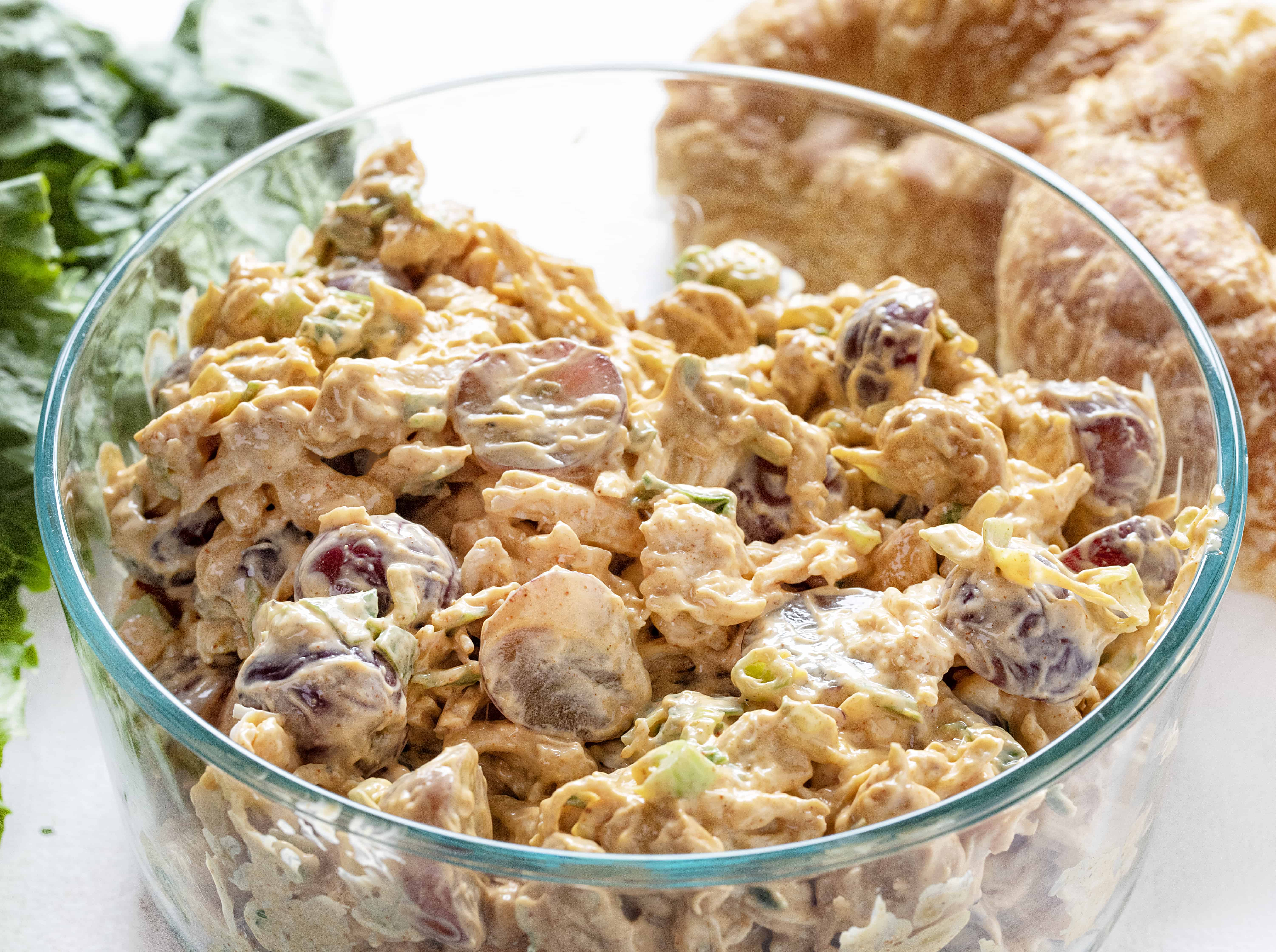 Chicken Salad Recipe with Grapes and Cashews