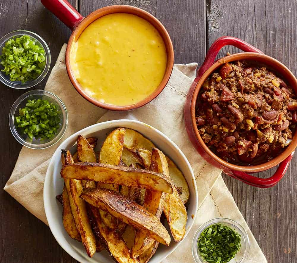 Chili Cheese Fries Ingredients