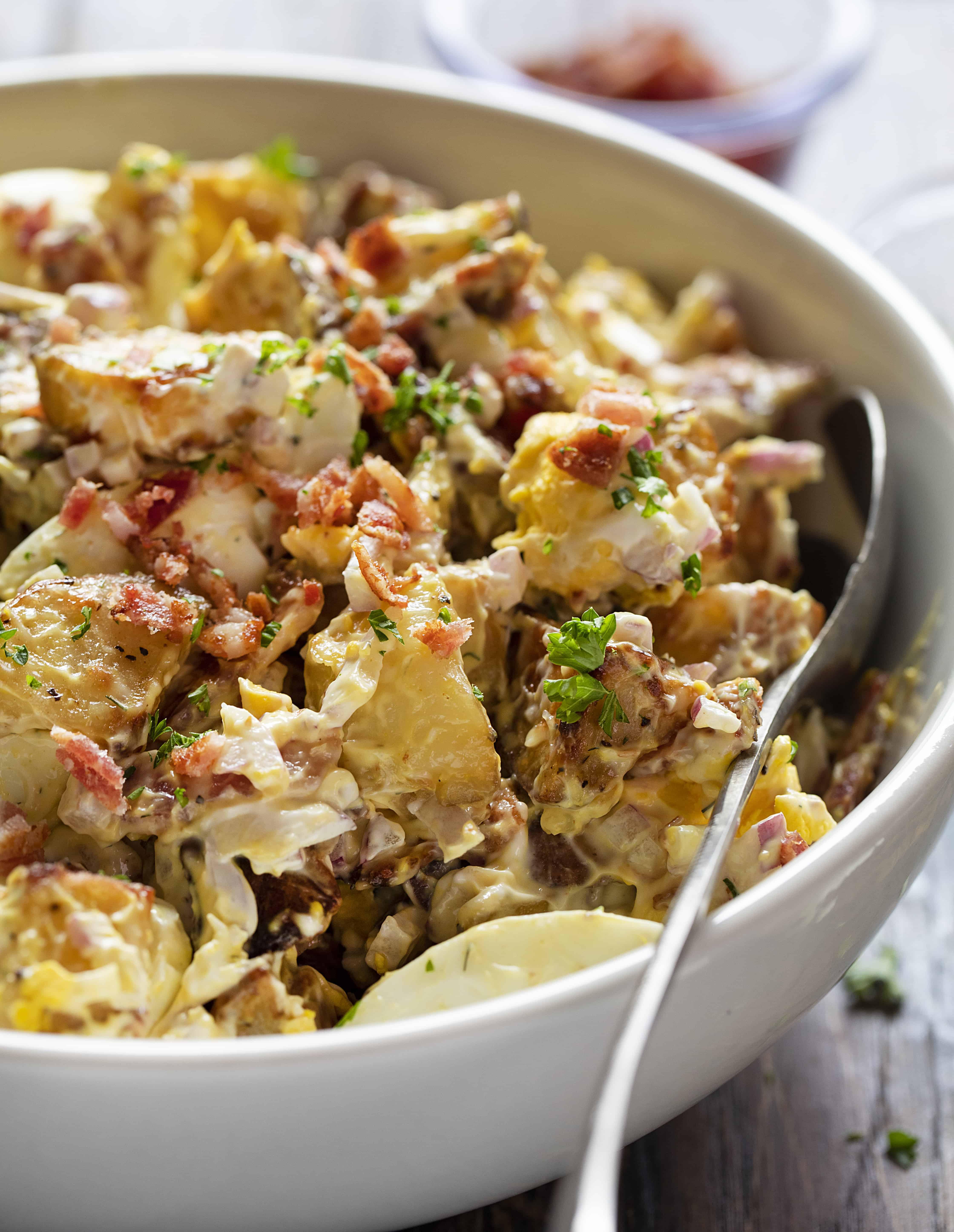 Roasted Potato Salad Salad