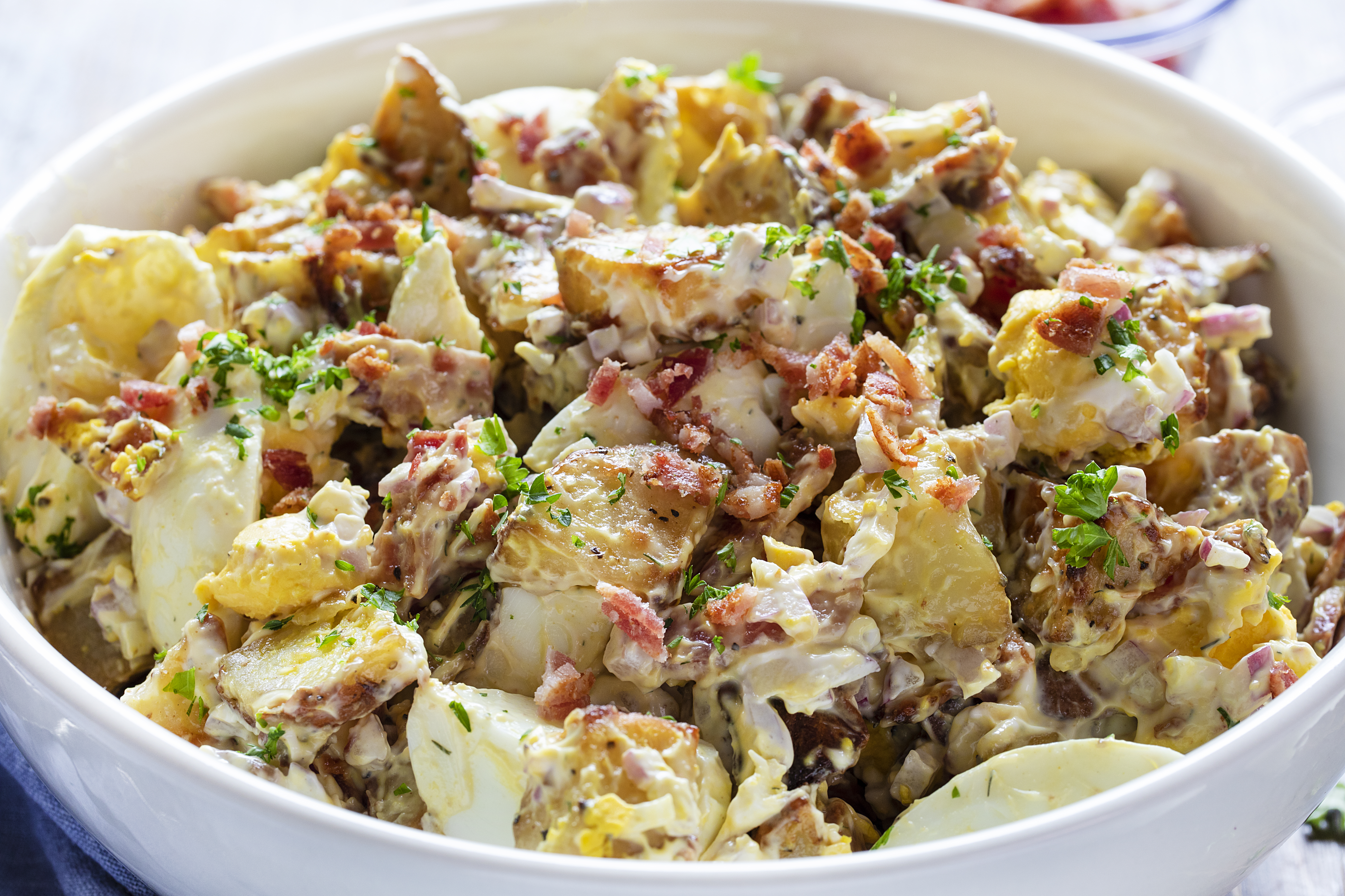 The Best Roasted Potato Salad