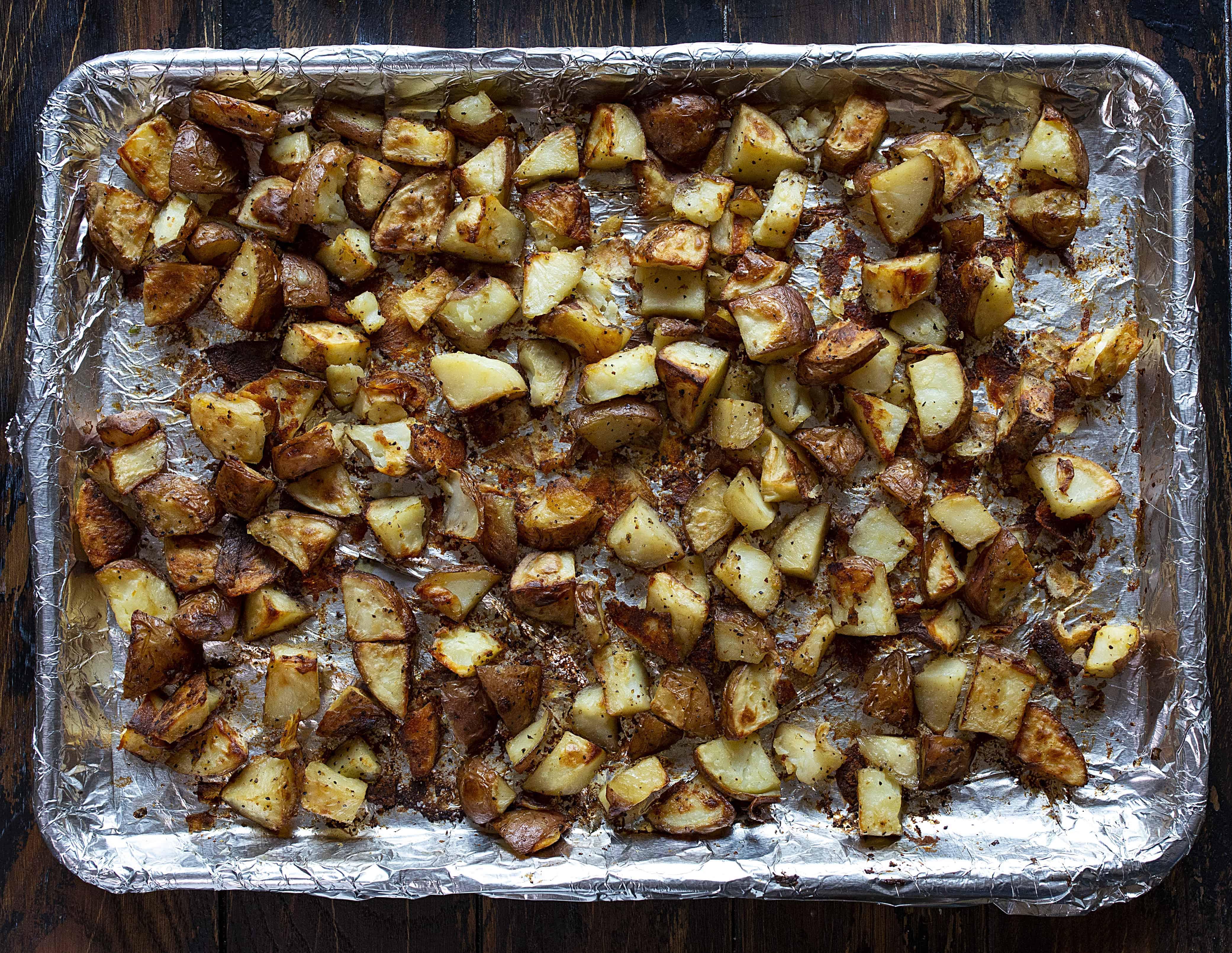 Roasted Potatoes for Potato Salad