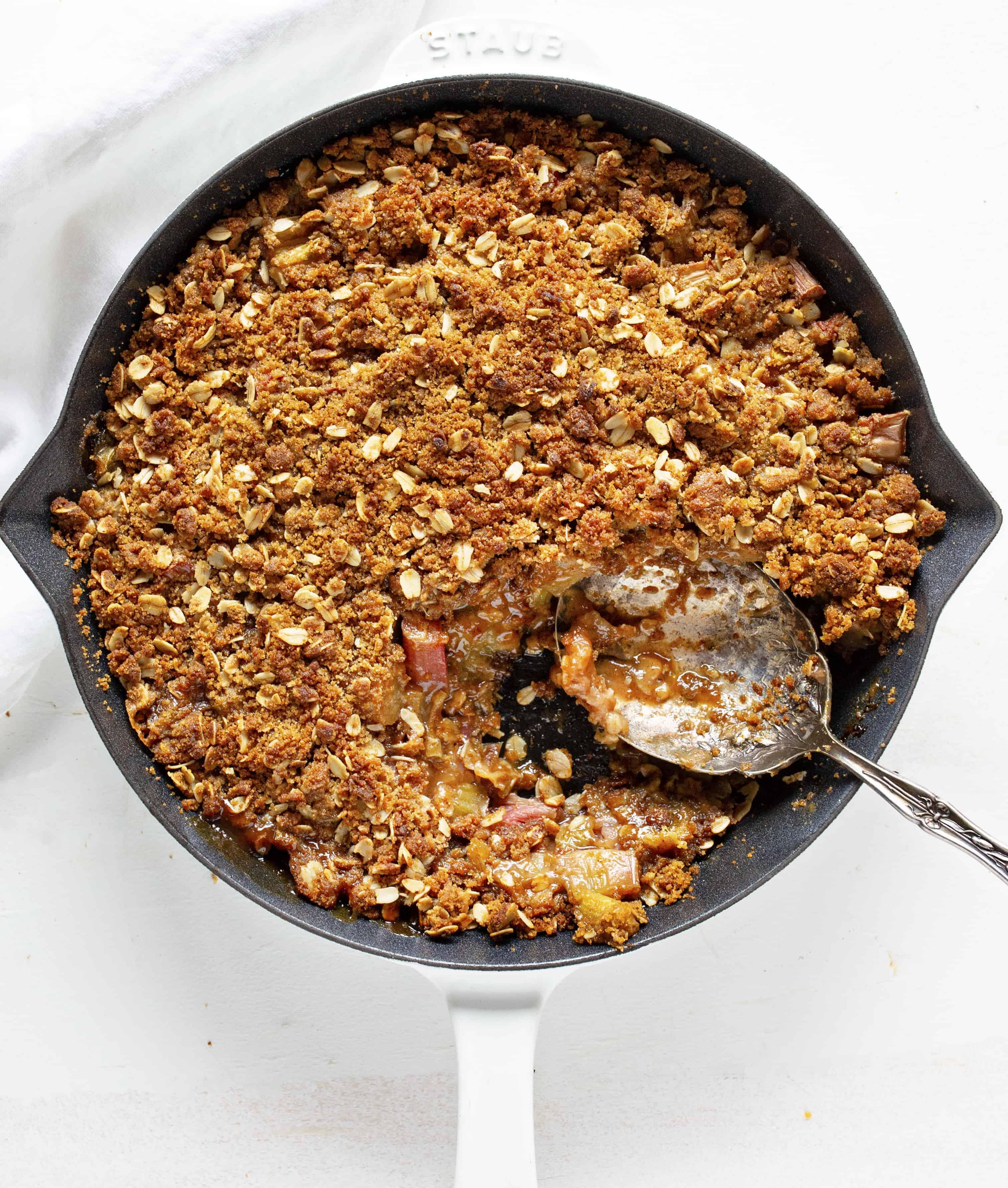 The Best Rhubarb Crisp Recipe