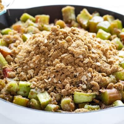 The Best Rhubarb Crisp