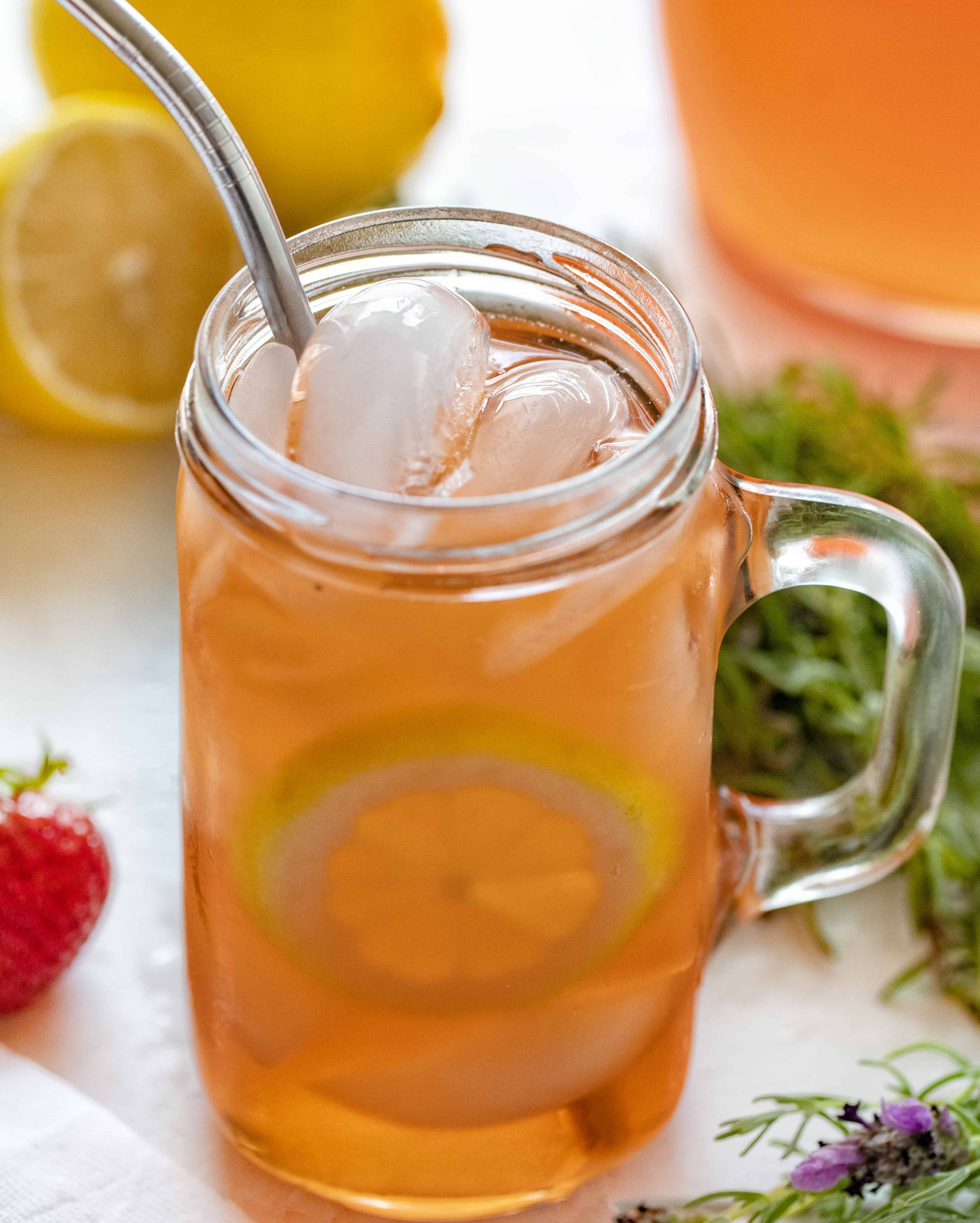 How to Make Strawberry Lavender Lemonade