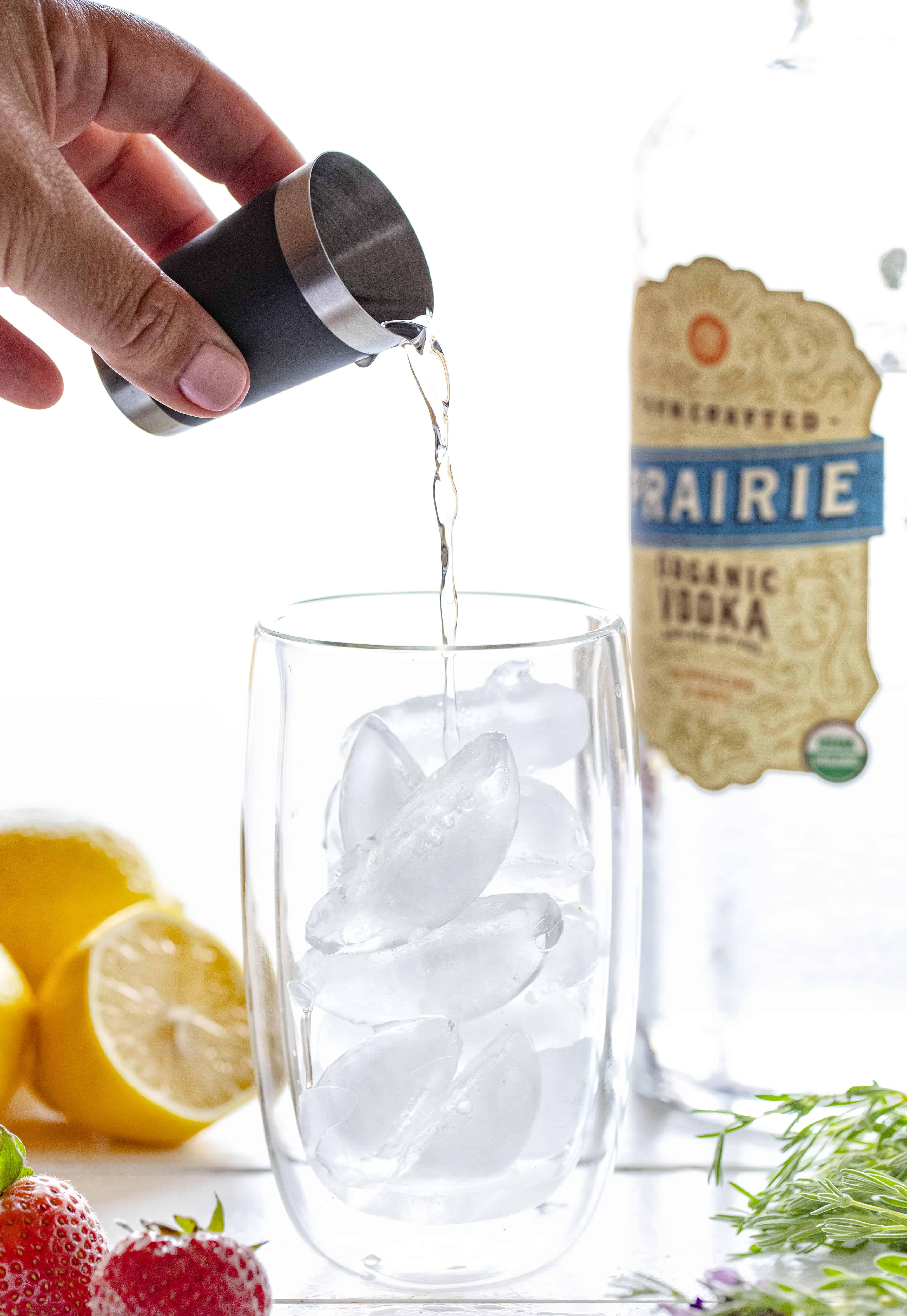 Strawberry Lemon Vodka Lemonade Recipe
