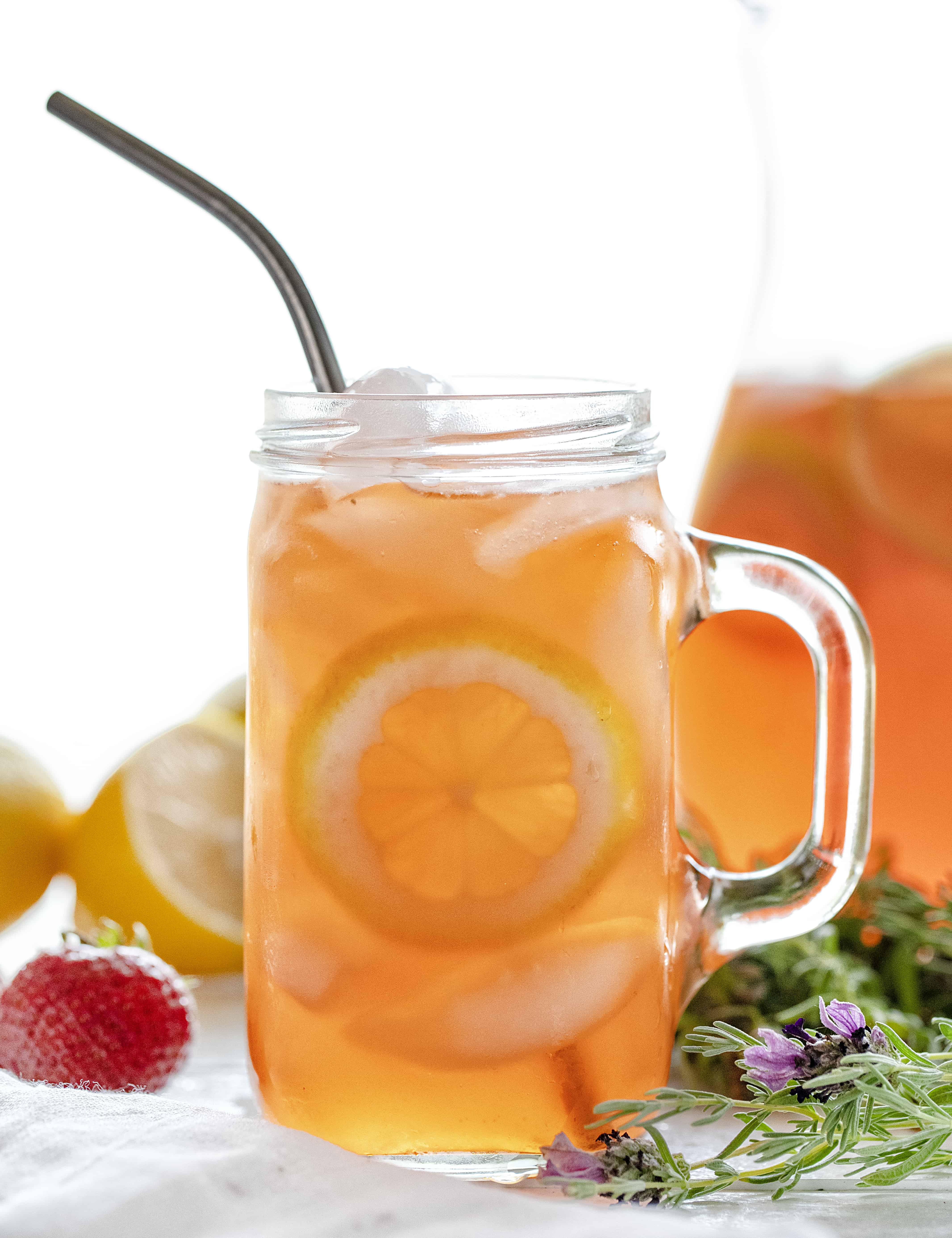Strawberry Lavender Lemonade Recipe