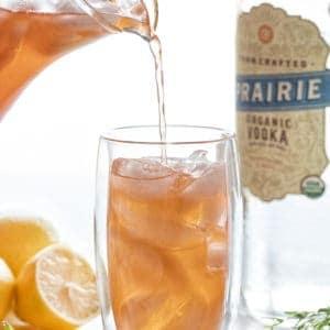Strawberry Lavender Vodka Lemonade