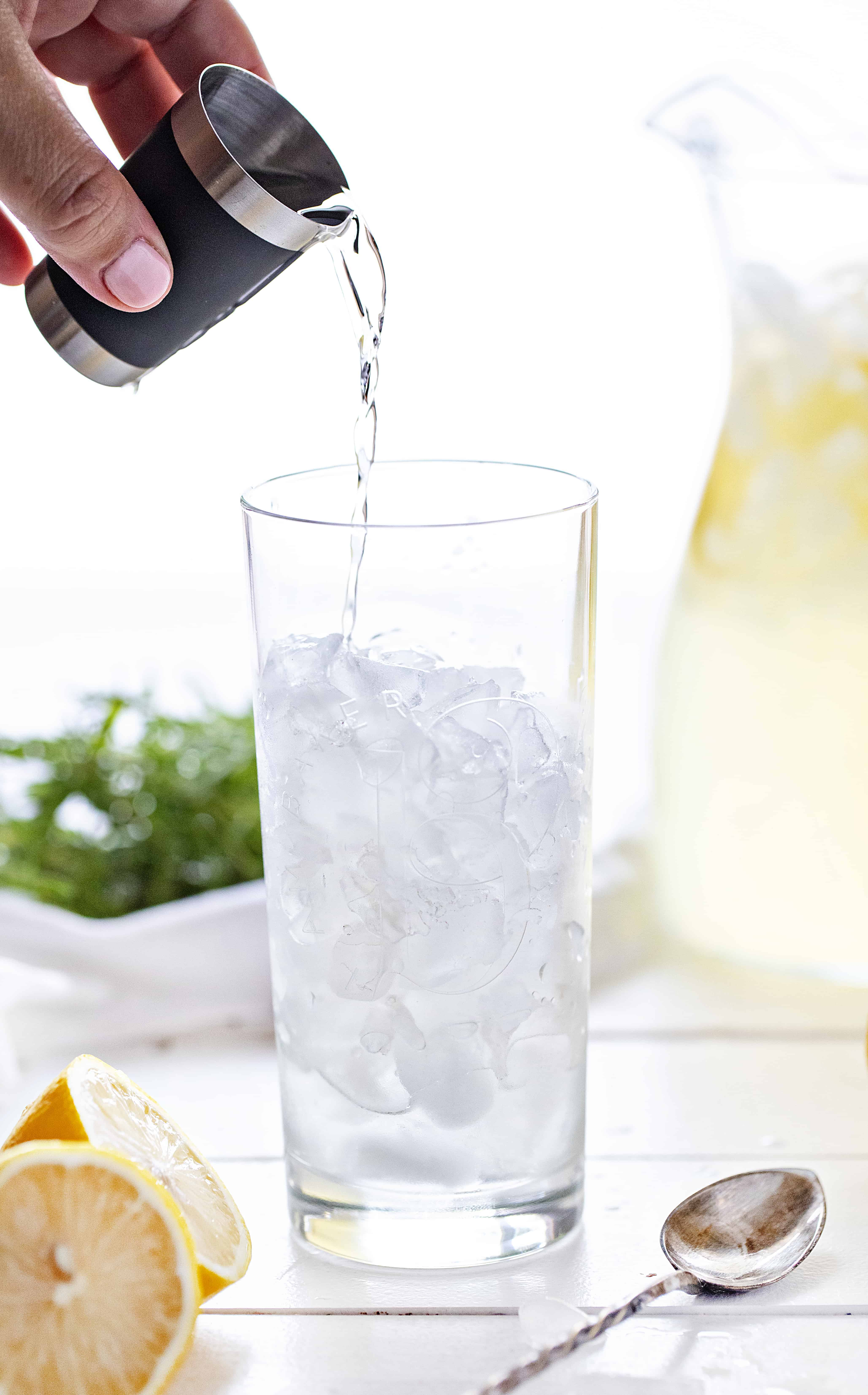 Vodka with Fresh Lemonade