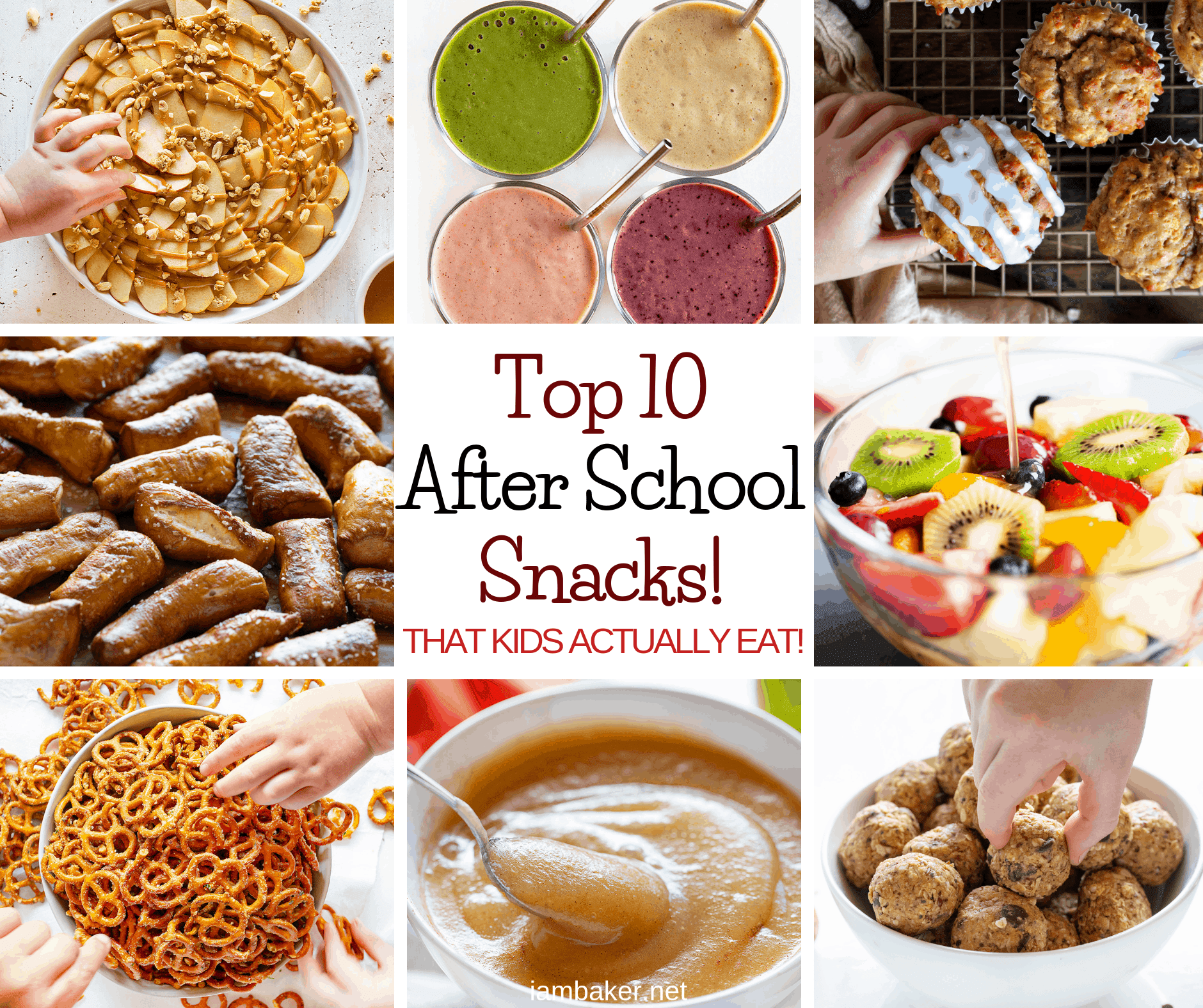 Top 10 After School Snack Recipes