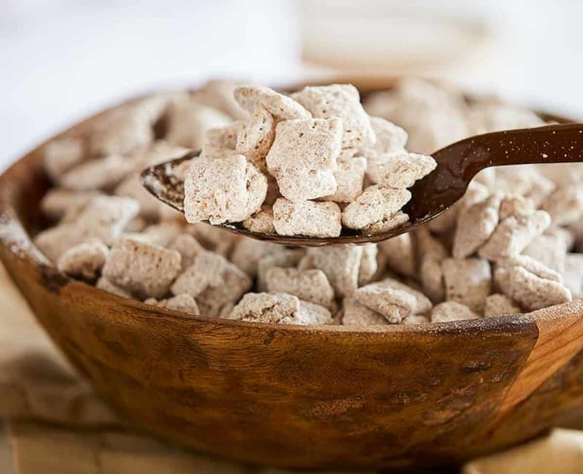 Snickerdoodle Puppy Chow I Am Baker