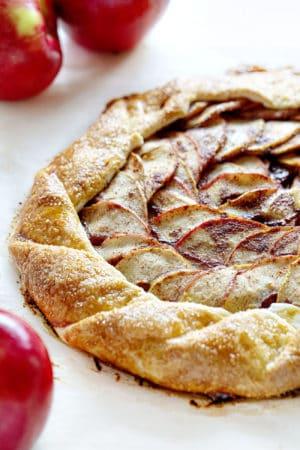 Homemade Apple Galette