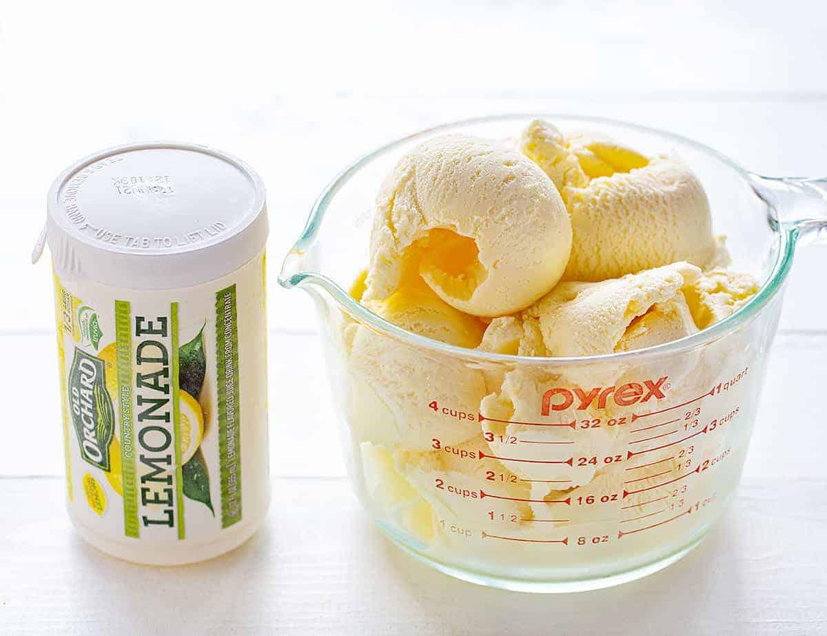 Frosted Lemonade Ingredients