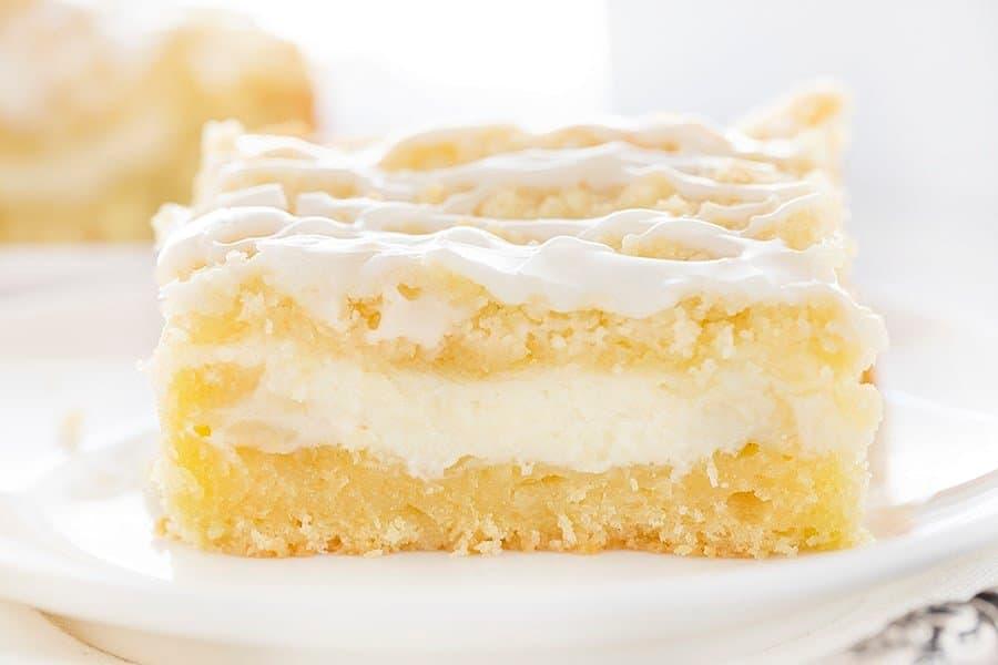 Lemon Cream Cheese Coffee Cake