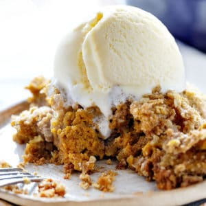 Homemade Pumpkin Crisp
