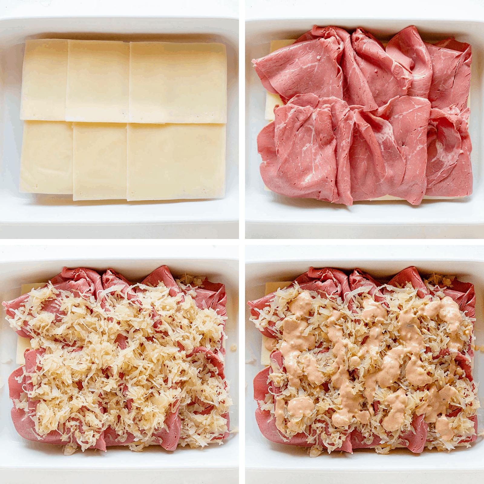 Reuben Slider Ingredients