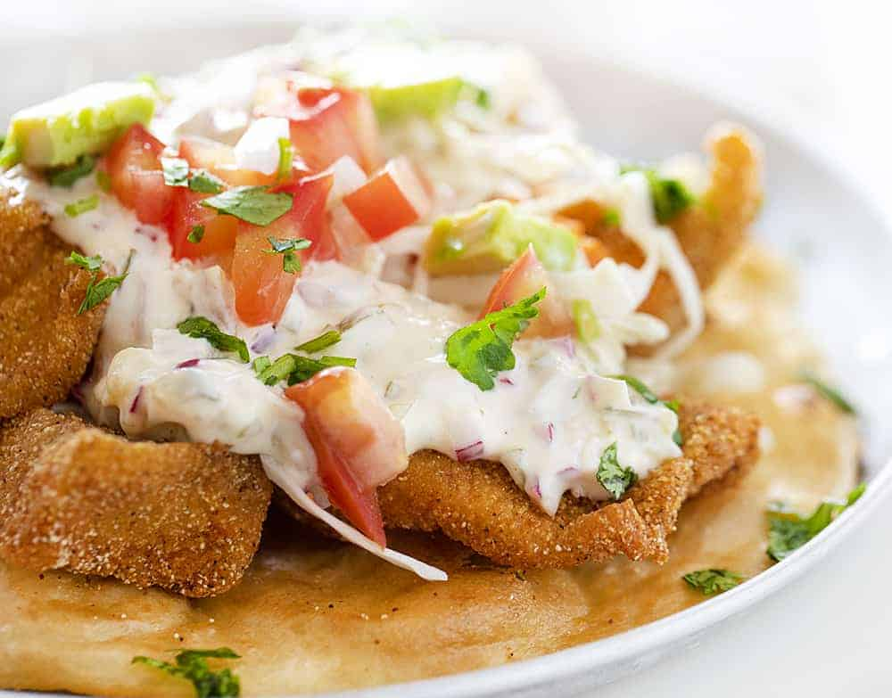 Easy Tartar Sauce on Best Fish Tacos