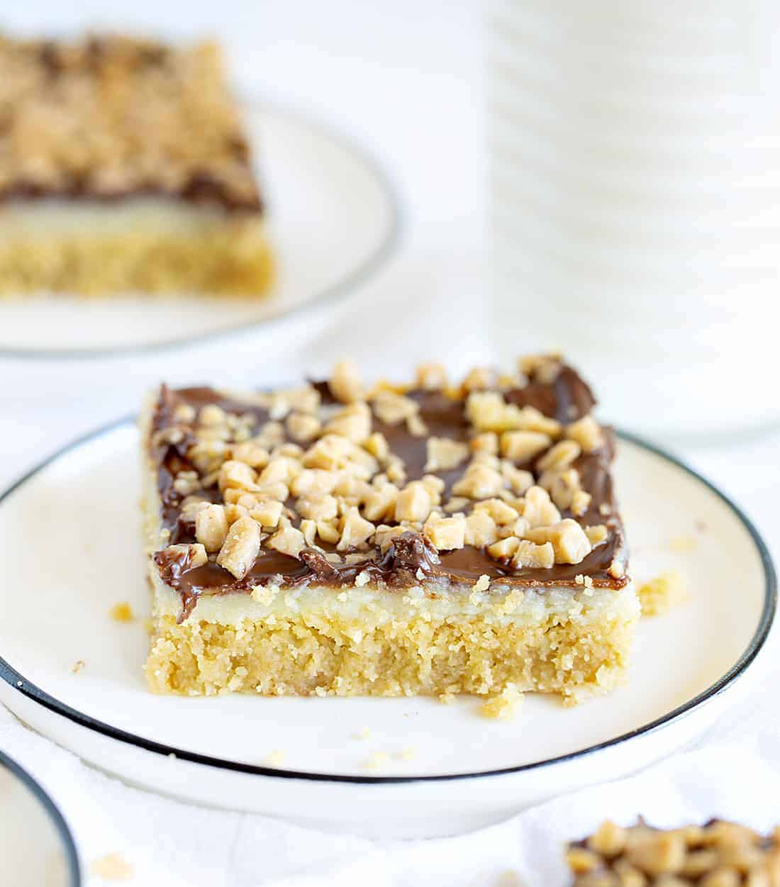 Piece of Chocolate Toffee Bars