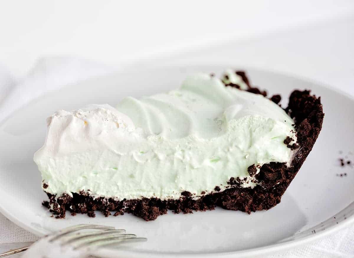 Peppermint Cream Pie