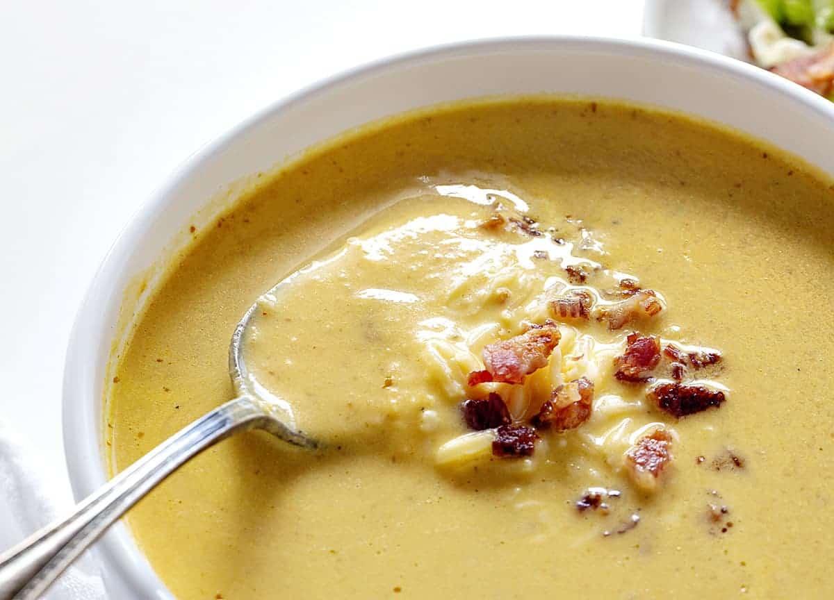 Spoonful of Pumpkin Soup