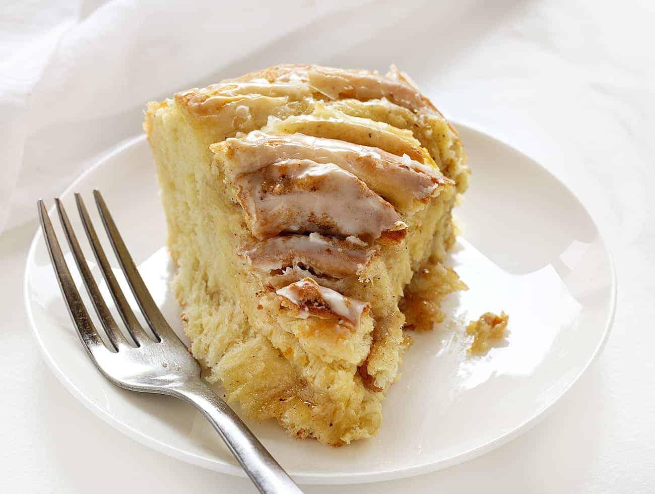 Slice of Orange Cardamom Breakfast Bread Twist