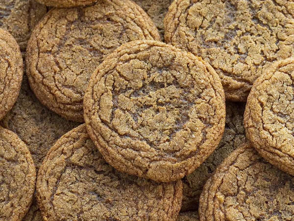 Soft Ginger Cookie I Am Baker