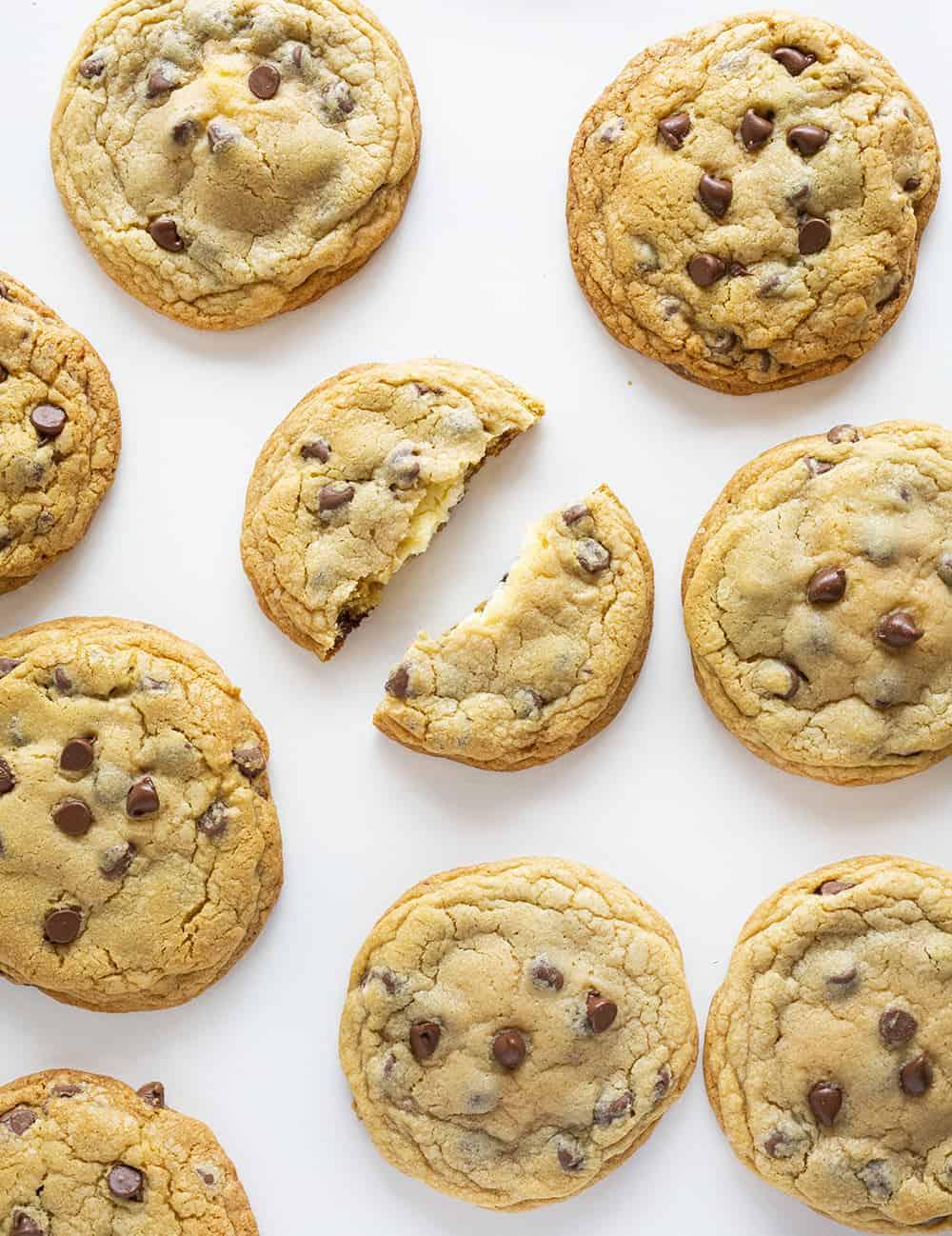 Cheesecake Stuffed Chocolate Chip Cookies Recipe