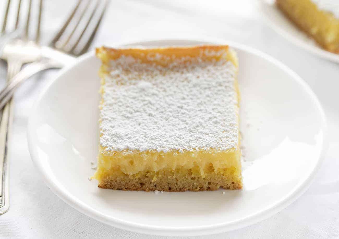 Lemon Ooey Gooey Cake Recipe