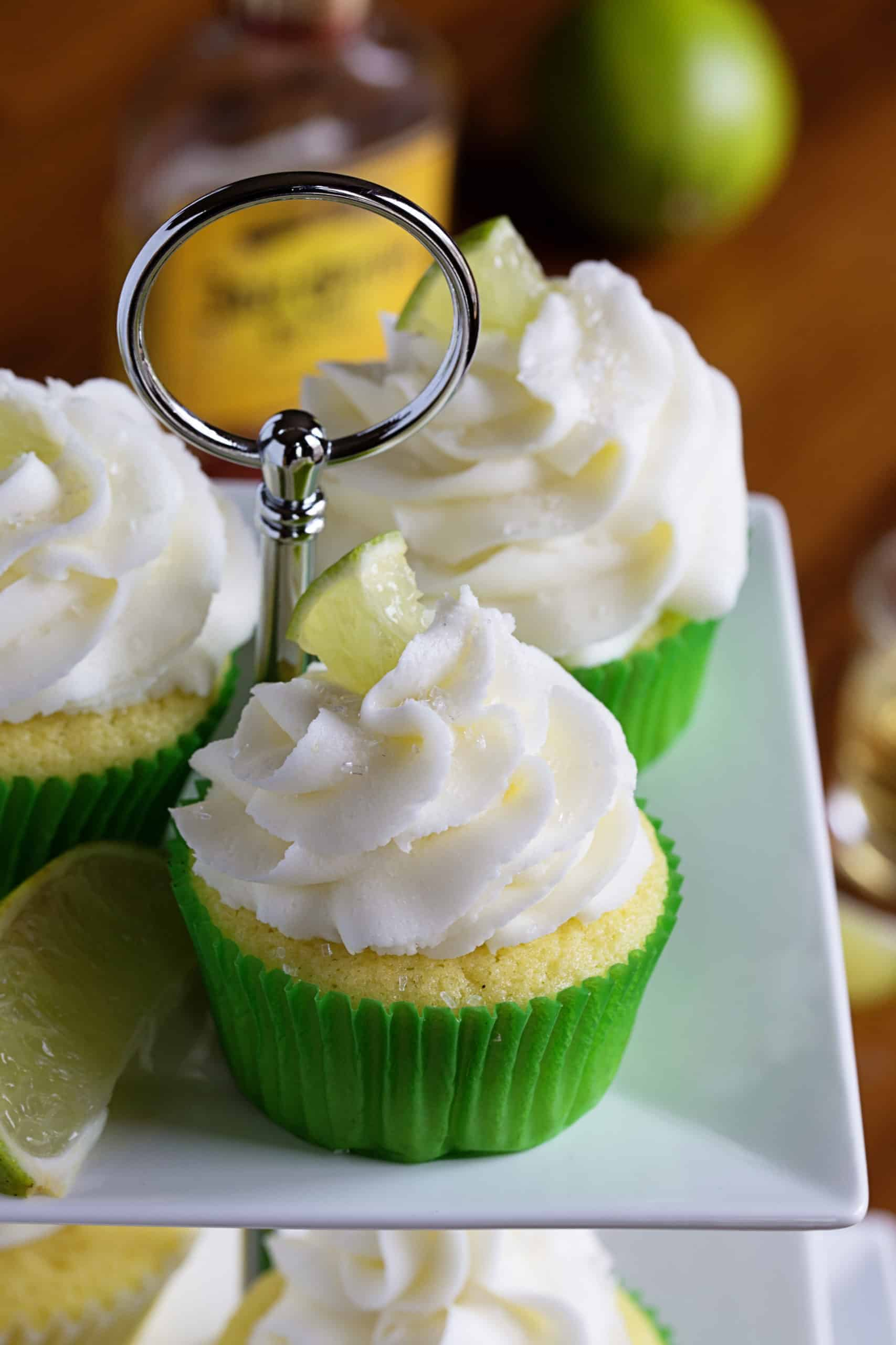 Cupcakes on Pedestal