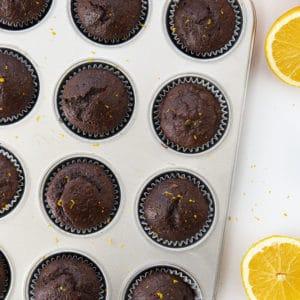 Cupcakes de chocolate e laranja |  eu sou padeiro 2
