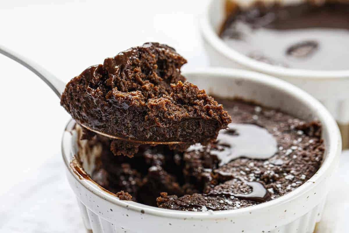 Spoonful of Chocolate Mug Cake