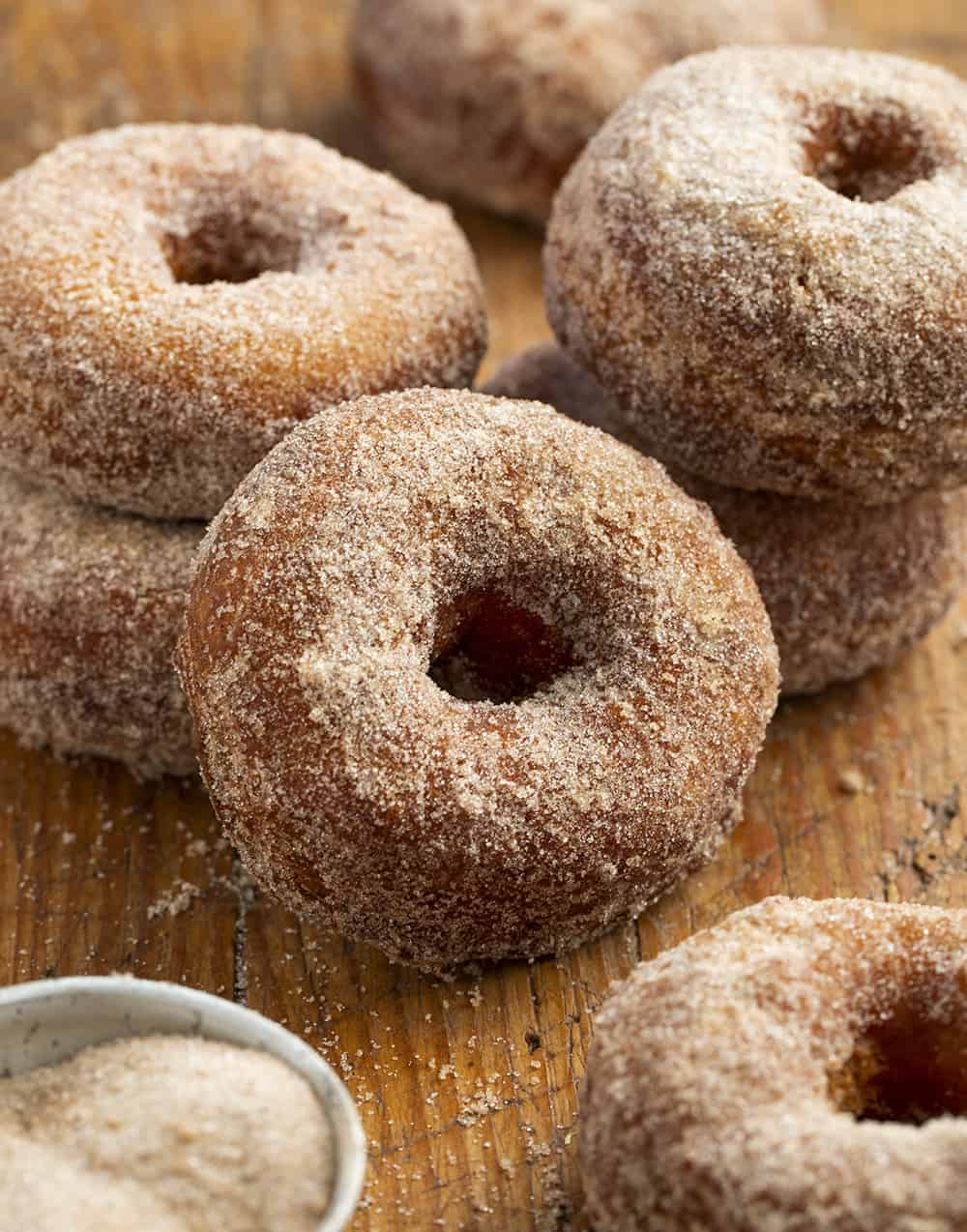 Fried Apple Cider Donuts