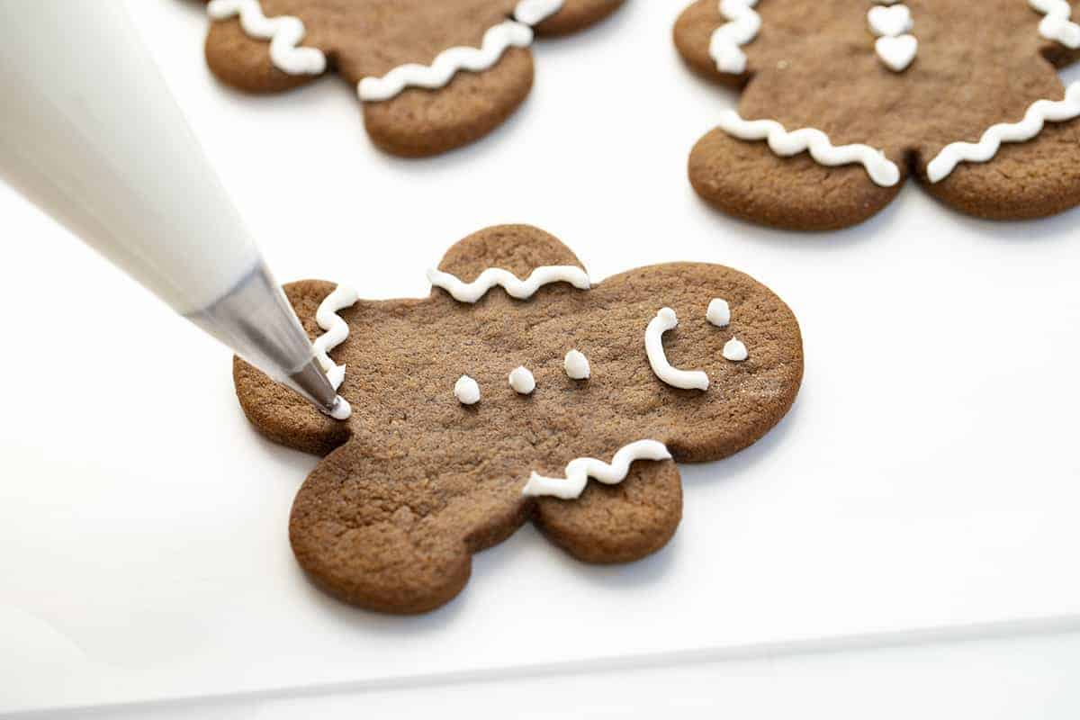 Decorating Gingerbread Man Cookies