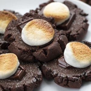 Cookies de chocolate com marshmallow |  eu sou padeiro 2