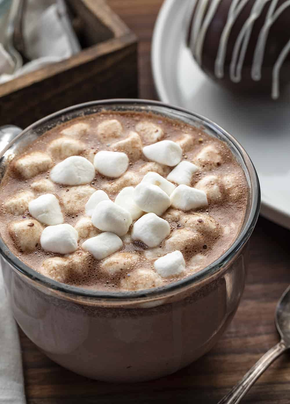 Cup of Hot Chocolate Using Hot Chocolate Bombs