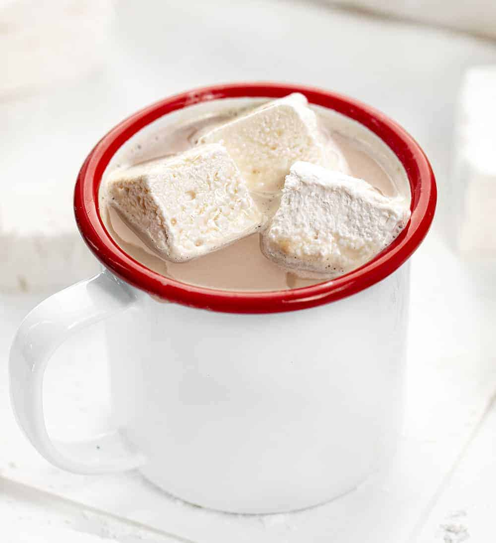 Hot Cocoa with Mini Homemade Marshmallows
