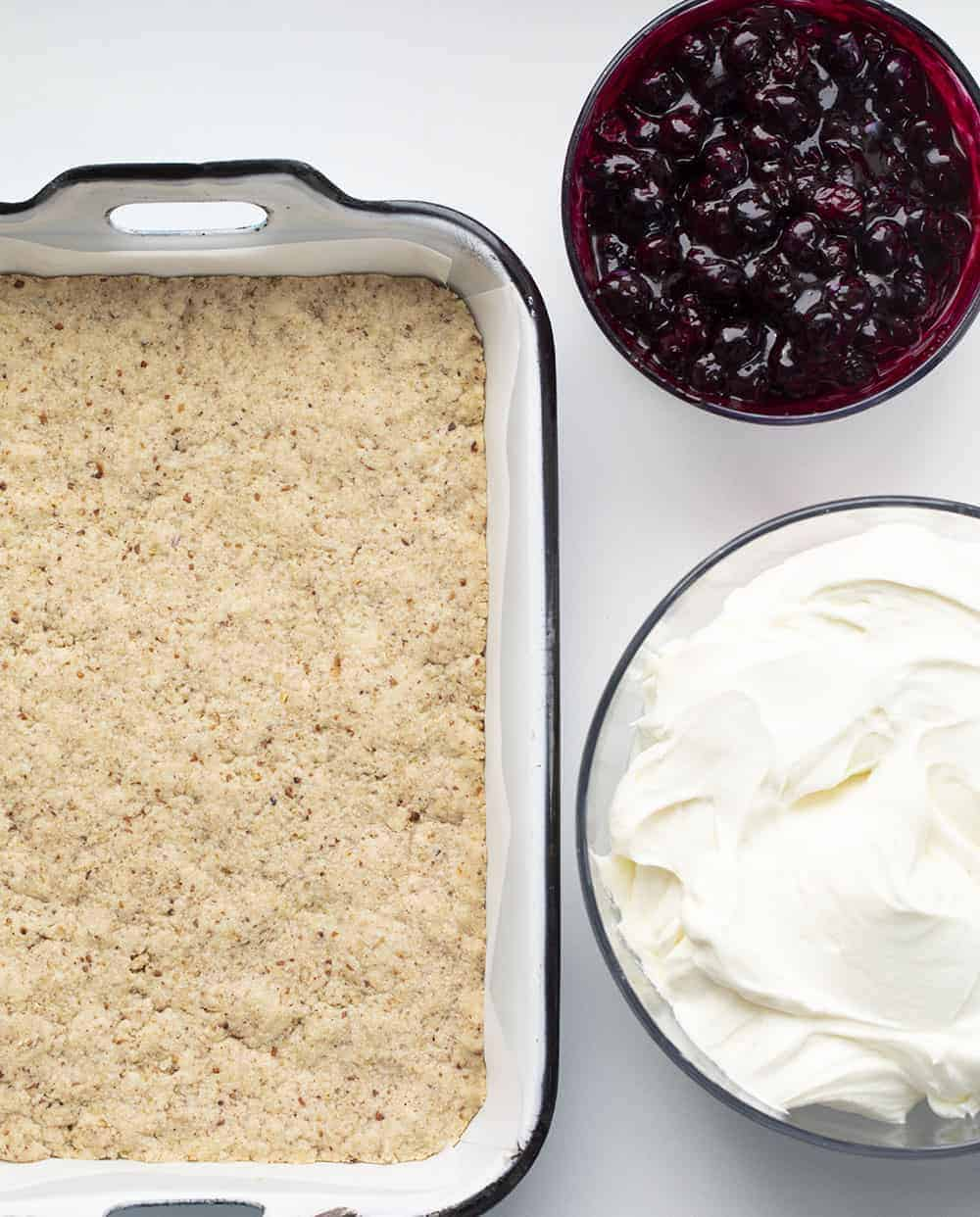 Ingredients for Blueberry Jamboree Recipe