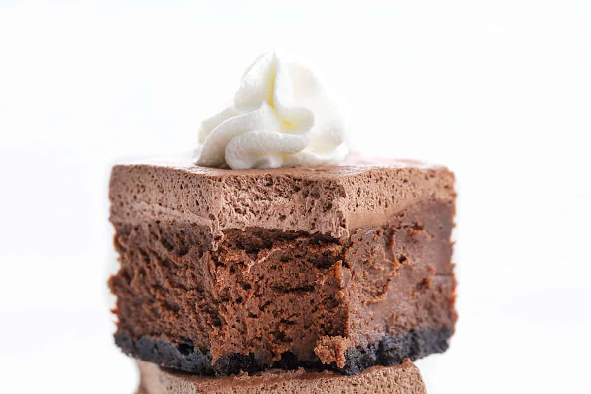 Bit Into Chocolate Cheesecake Bar