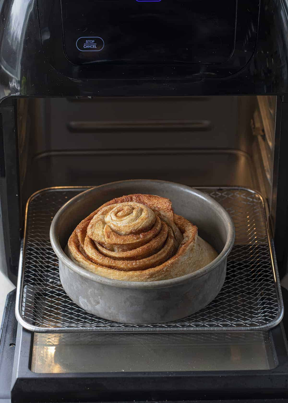Air Fryer Cinnamon Roll