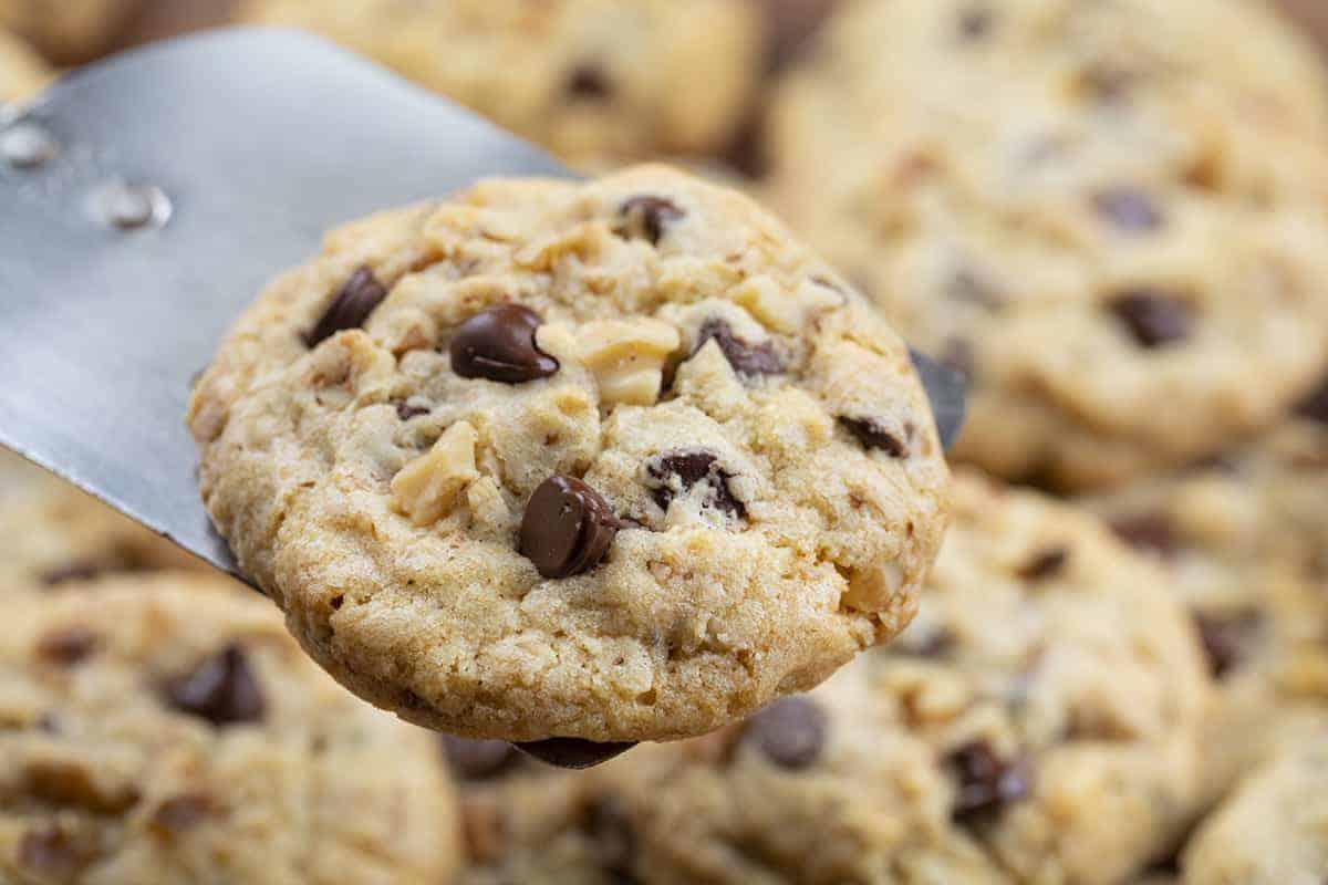 One Walnut Chocolate Chip Cookies - Doubletree Copycat Cookies