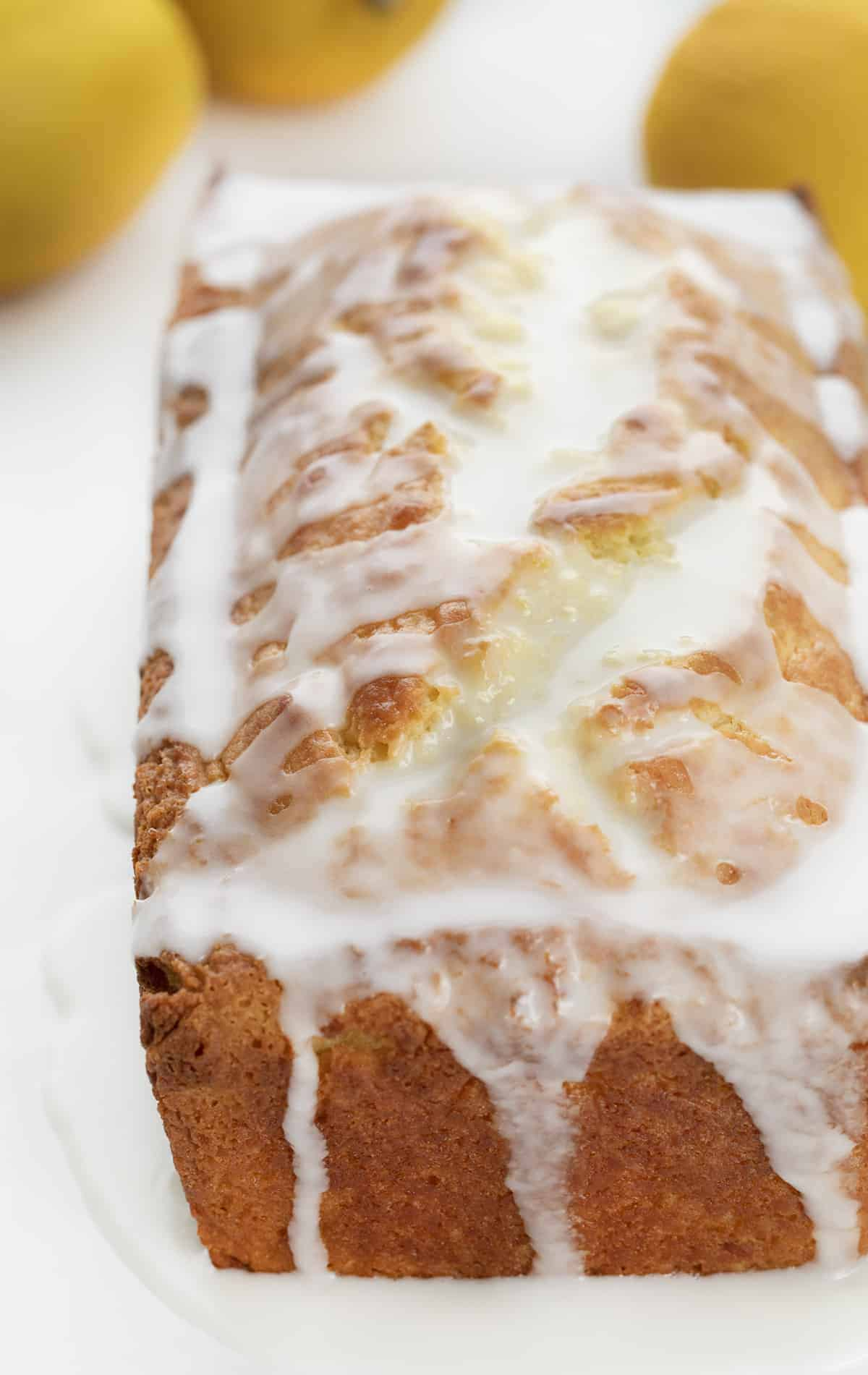 Lemon Loaf Recipe (Starbucks Copycat Lemon Loaf) with Lemon Glaze