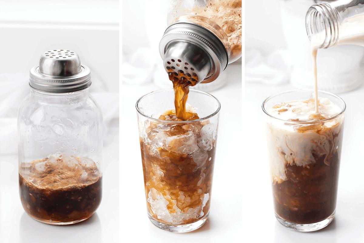 How to Make Starbucks Iced Brown Sugar Oat Milk Espresso