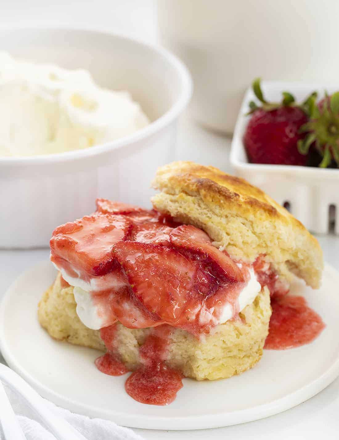 Authentic Strawberry Shortcake Recipe