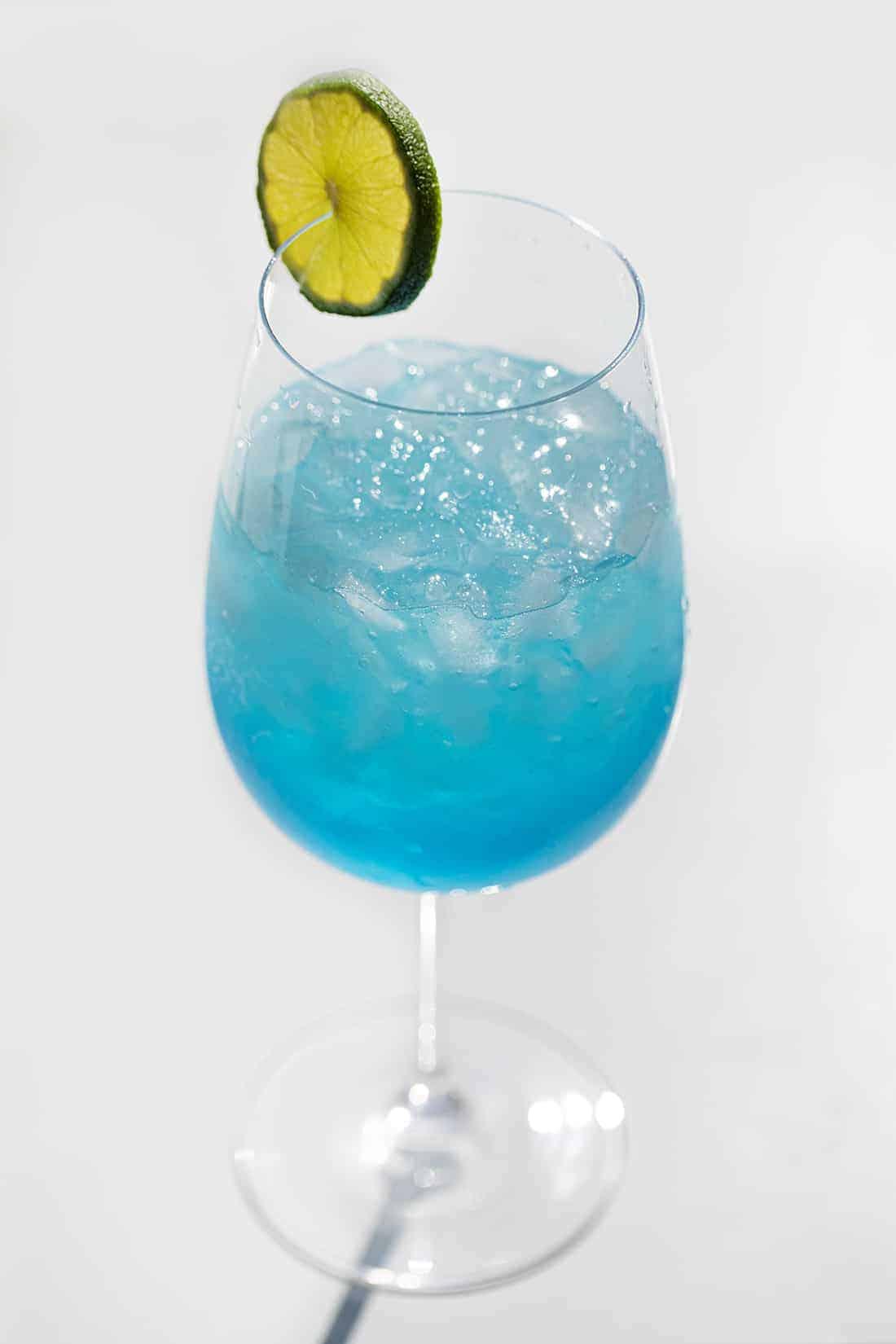 Drunken Mermaid Cocktail in the Sun